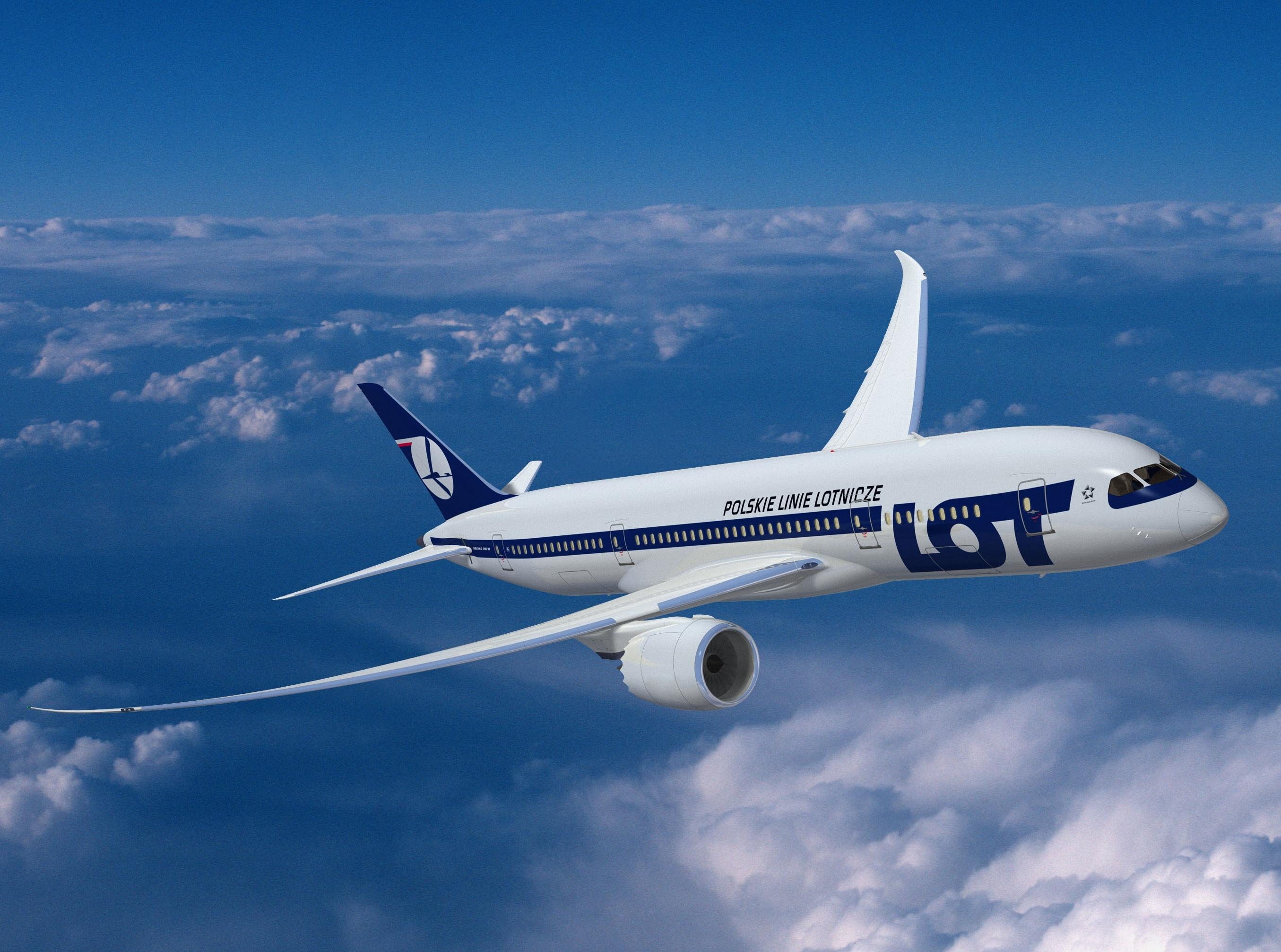 Rezerwacja biletów na samolot LOT