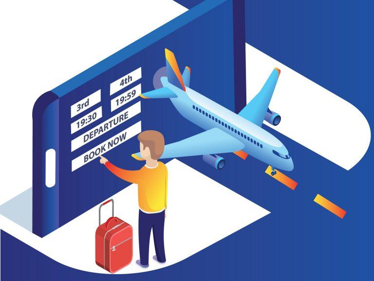 Bilet lotniczy elektroniczny
